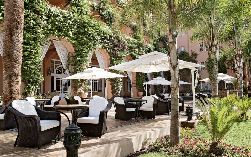 Sofitel marrakech palais imperial ember travel bespoke for Cafe le jardin marrakech